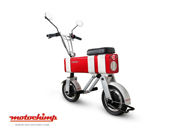 Motochimp is a compact and cool new electric motorbike