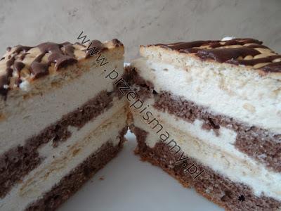 Ciasto kawowe z masą