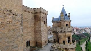 Olite, Palacio Real de los Reyes de Navarra.