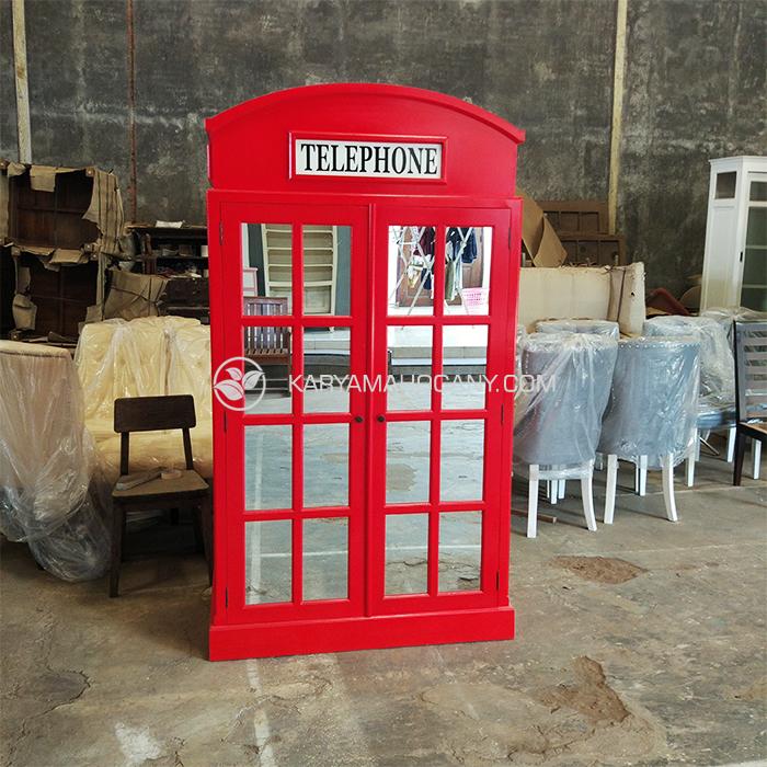 Harga Lemari Telepon Inggris Terbaru