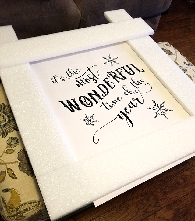 Its the most wonderful time printable crafting in the rain i sent the printable to office depot and had a blueprint printed at the arch d size it was less than 4 to print it some links are affiliate malvernweather Gallery