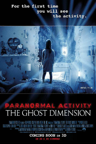 Paranormal Activity: The Ghost Dimension [2015] [DVDR] [NTSC] [Latino] [Unrated]