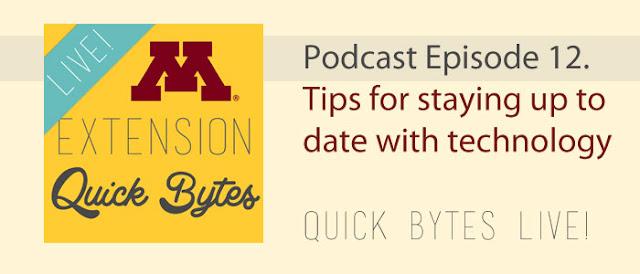 banner: Quick Bytes Live episode 12
