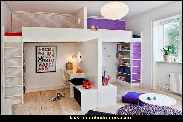 shared bedroom ideas  shared bedrooms ideas - decorating shared bedrooms - siblings sharing bedroom - Shared spaces - boy and girl shared room - Shared Kids Room decorating - Room dividers - shared bedroom spaces - curtains - Room Divider Curtains