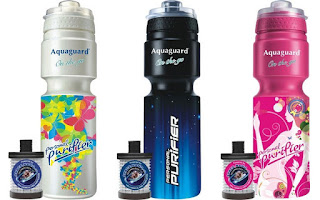 Aquaguard White, Blue, Pink, Water Purifer, Purify water on the go