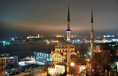 Istanbul at night, All rights reserved by the author
