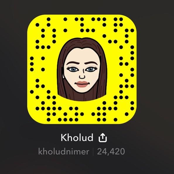 خلود النمر سناب شات - Kholud Alnimer snapchat