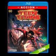 Teen Titans: El contrato de Judas (2017) BRRip 720p Audio Dual Latino-Ingles