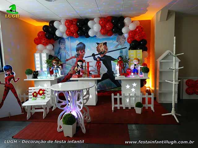 Decoração de festa de aniversário Ladybug - Miraculous