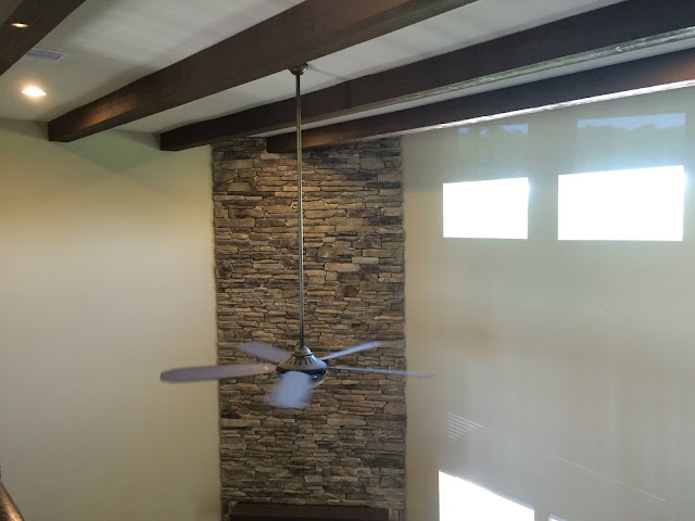 Painting Rough Cedar Ceiling Beams: Kurk Custom Homes: Design And Build Blog: October 2016