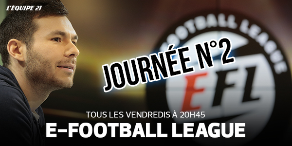 Journée 2 de l'E-Football League