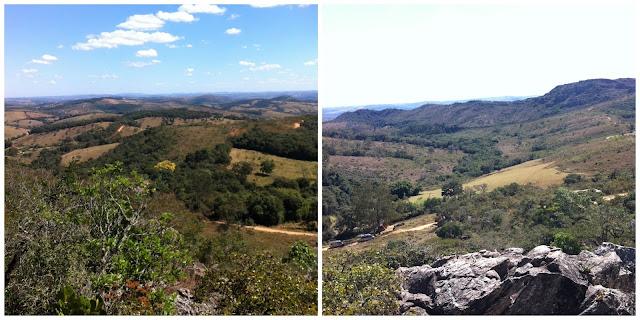 vista da Serra do Lenheiro, São João del Rei - MG