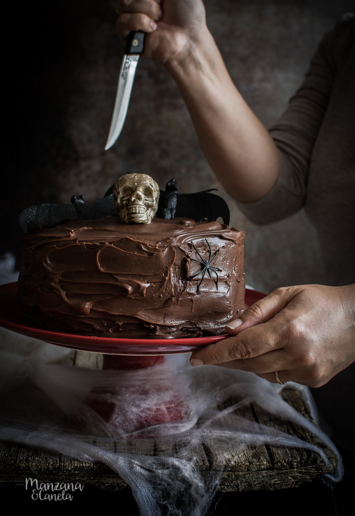 Devil's food cake. La tarta de chocolate definitiva.