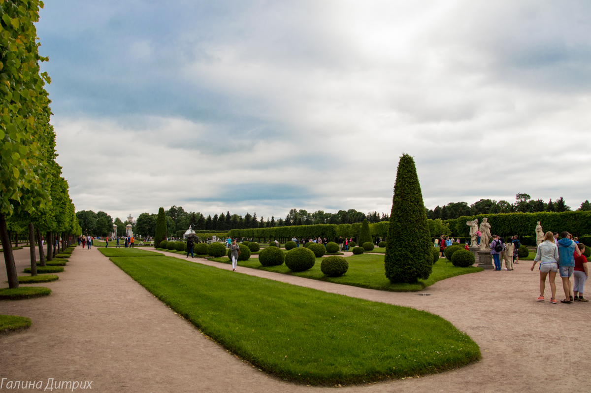 Верхний сад Петергофа фото