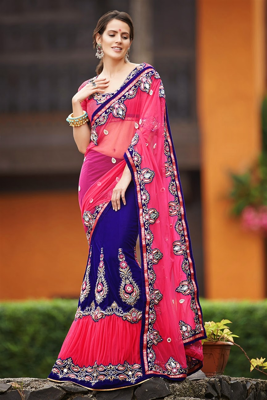 Six Yards Of Sheer Luxury All New Lehenga Saree Styles