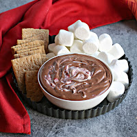 Black Forest Brownie Dip