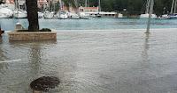velika plima Milna slike otok Brač Online