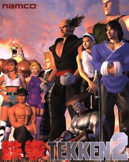 Tekken 2 poster