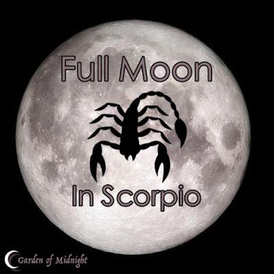 luna piena scorpione fasi lunari
