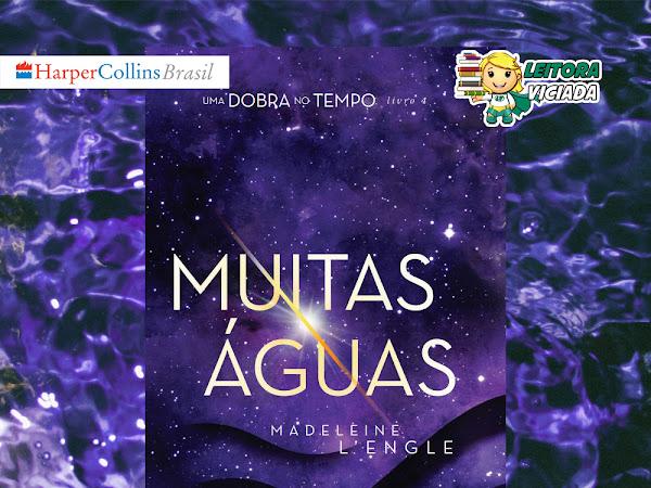 [Atualizada com o resultado] Sorteio: Muitas Águas, livro 4 de Uma Dobra no Tempo, Madeleine L'Engle e HarperCollins Brasil