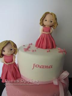 bolos decorados meninas bragança