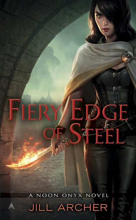 Cover Revealed - Fiery Edge of Steel (Noon Onyx 2) by Jill Archer