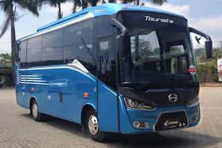 Spesifikasi Bus Medium Panjang Tourista, bus medium, bus tourista,