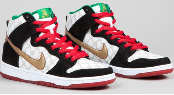 09aa60d0c9eef O Nike SB Flom Dunk High tem o preço de US  7.500 e é líder na seleção dos  10 tênis mais caros do mundo. Esta disponível somente em revendedores ...