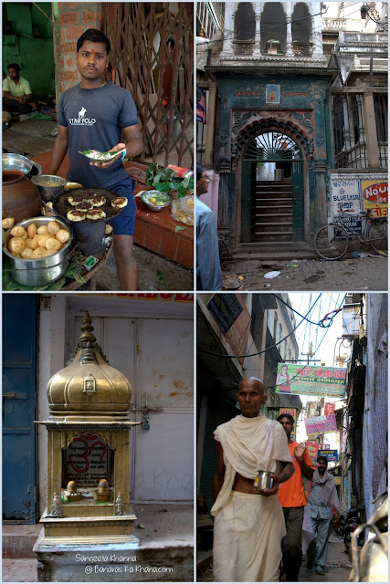 food and heritage walks in Banaras