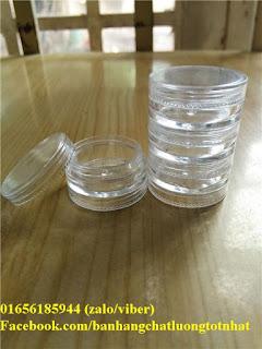 Hũ nhựa 5ml (Hũ tầng)