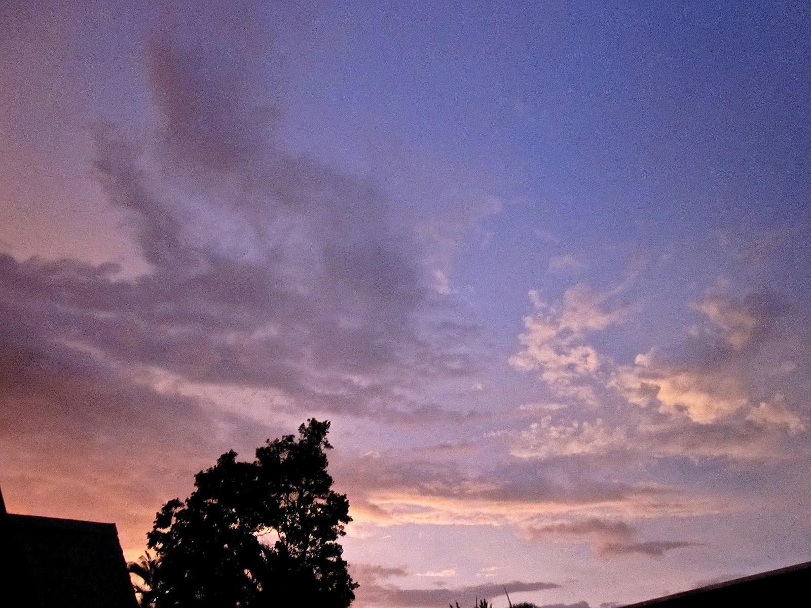 jkwgalleries: Purple Sky/Clouds, Sunrise and noon Clouds