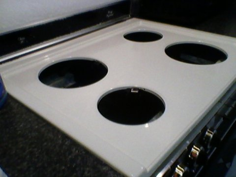 Little Bitty Damn Houze Diy Projects Painted Stove Top