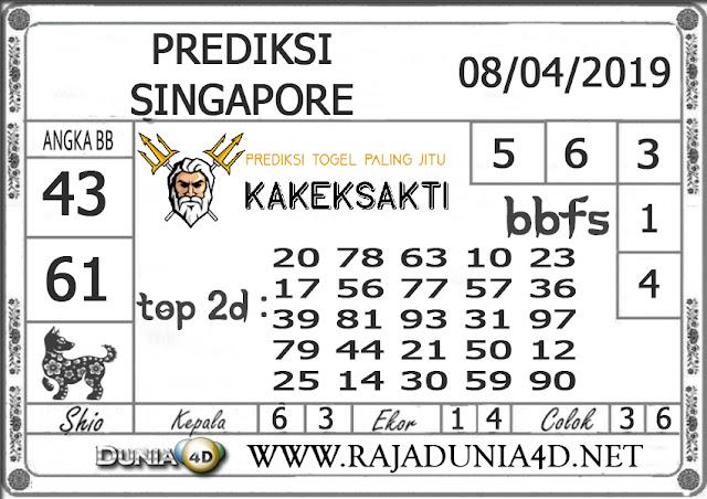 Prediksi Togel SINGAPORE DUNIA4D 08 APRIL 2019