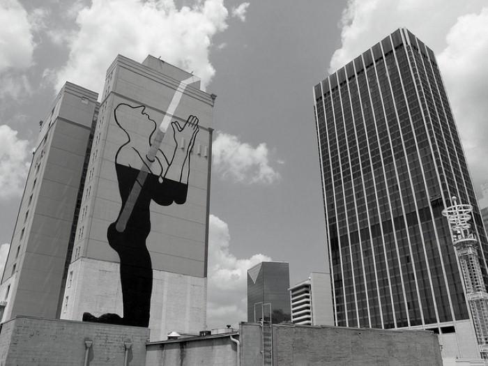 Фотографии работ уличного художника. Sam3 9