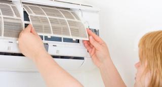 Fungsi filter udara pada ac split