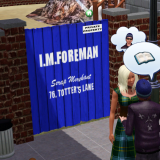 I.M.Foreman Scrap Yard Gate & Fence- Preview Image
