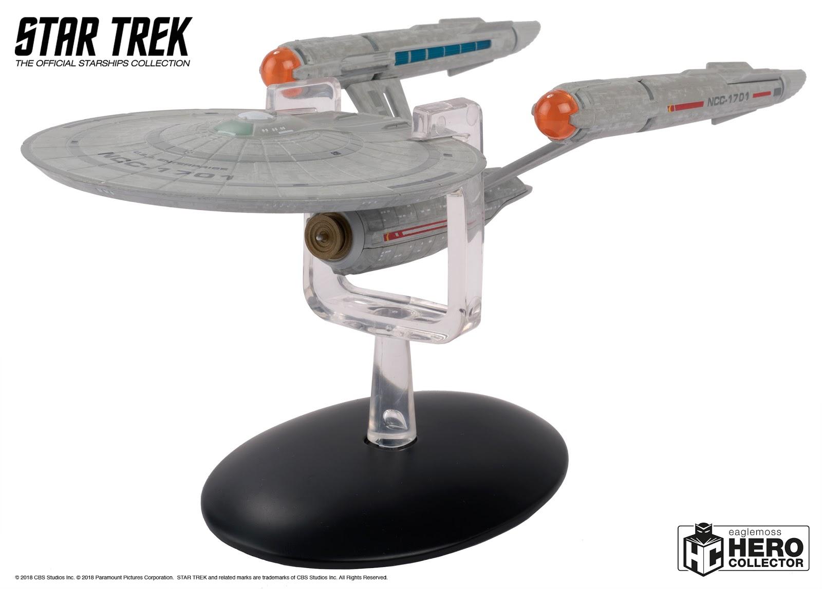 Eaglemoss Hero Collector Romulan Bird-of-Prey