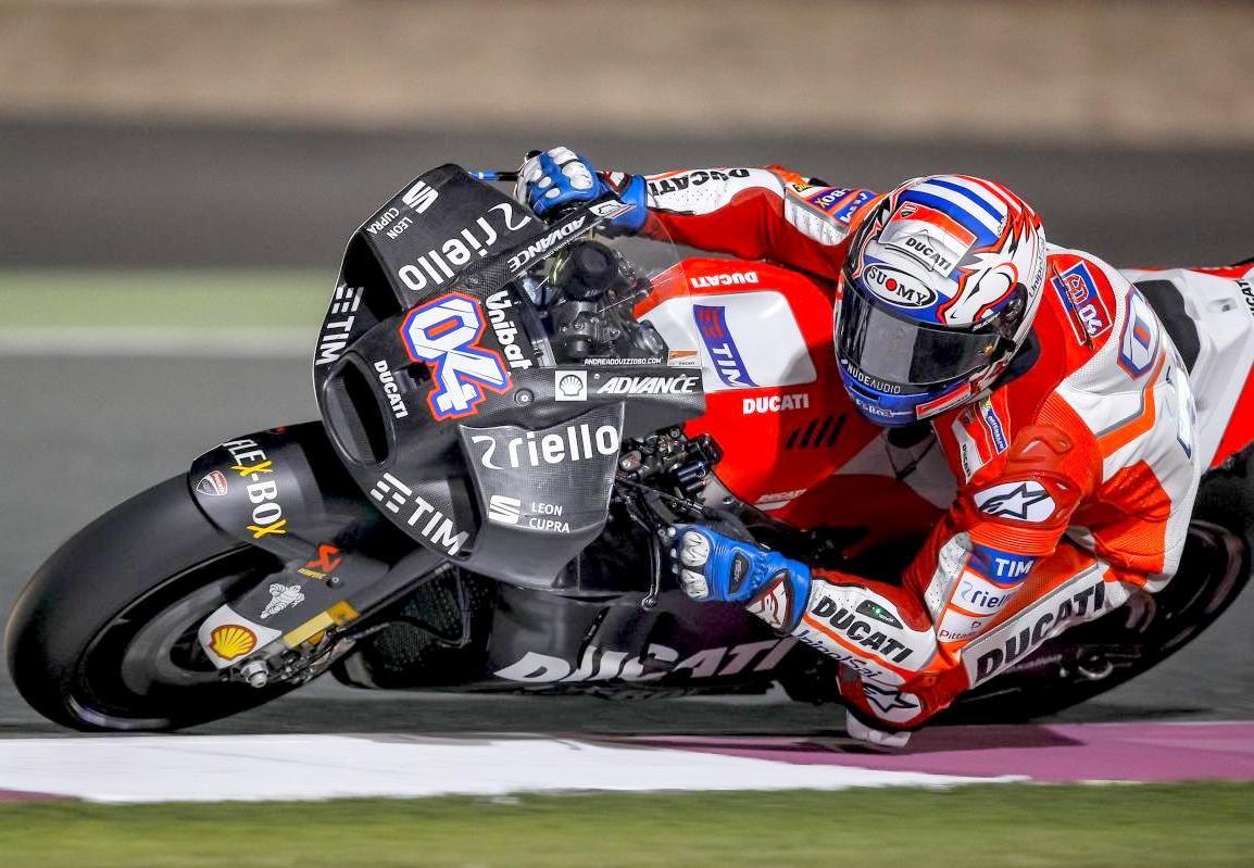 MotoGP 2017 : Tim pabrikan Ducati akhirnya memperlihatkan desain fairing baru mereka di Qatar Official Test 2 !