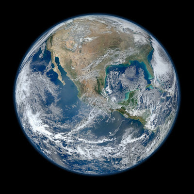 "our Blue Marble, ""Nature"" from a distance"