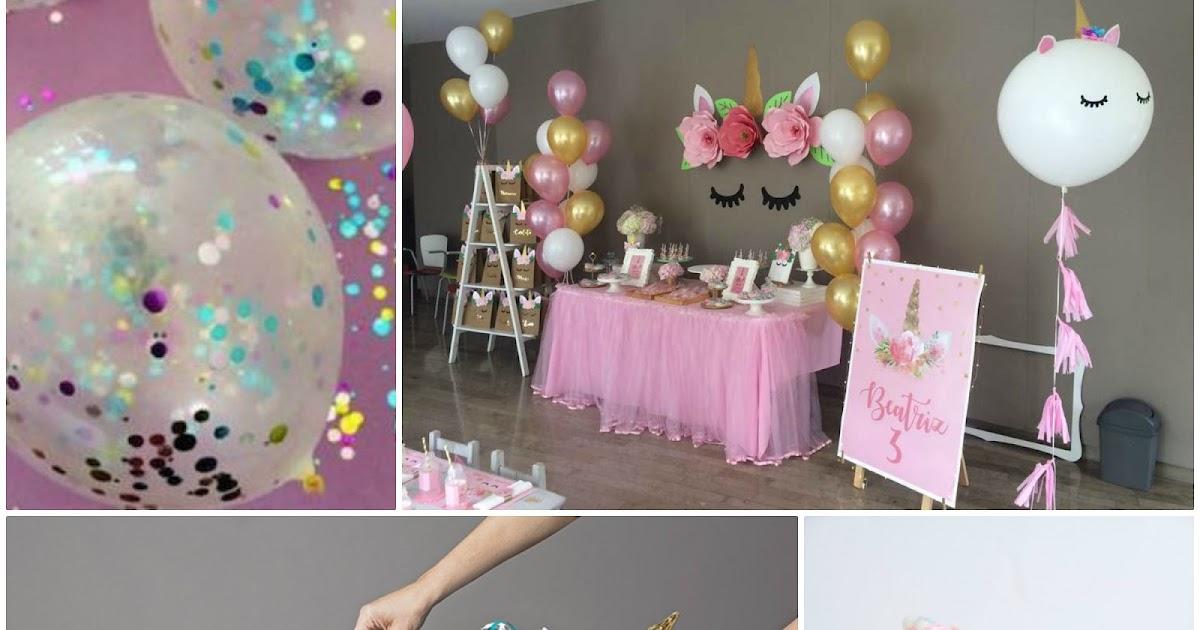 Decorazioni Fai Da Te Per Feste : Decorazioni fai da te per festa a tema unicorno
