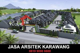 Desain Arsitek Modern Karawang