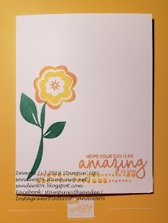 Easy Handmade Card Blog Hop Bloom By Bloom Stamp Set