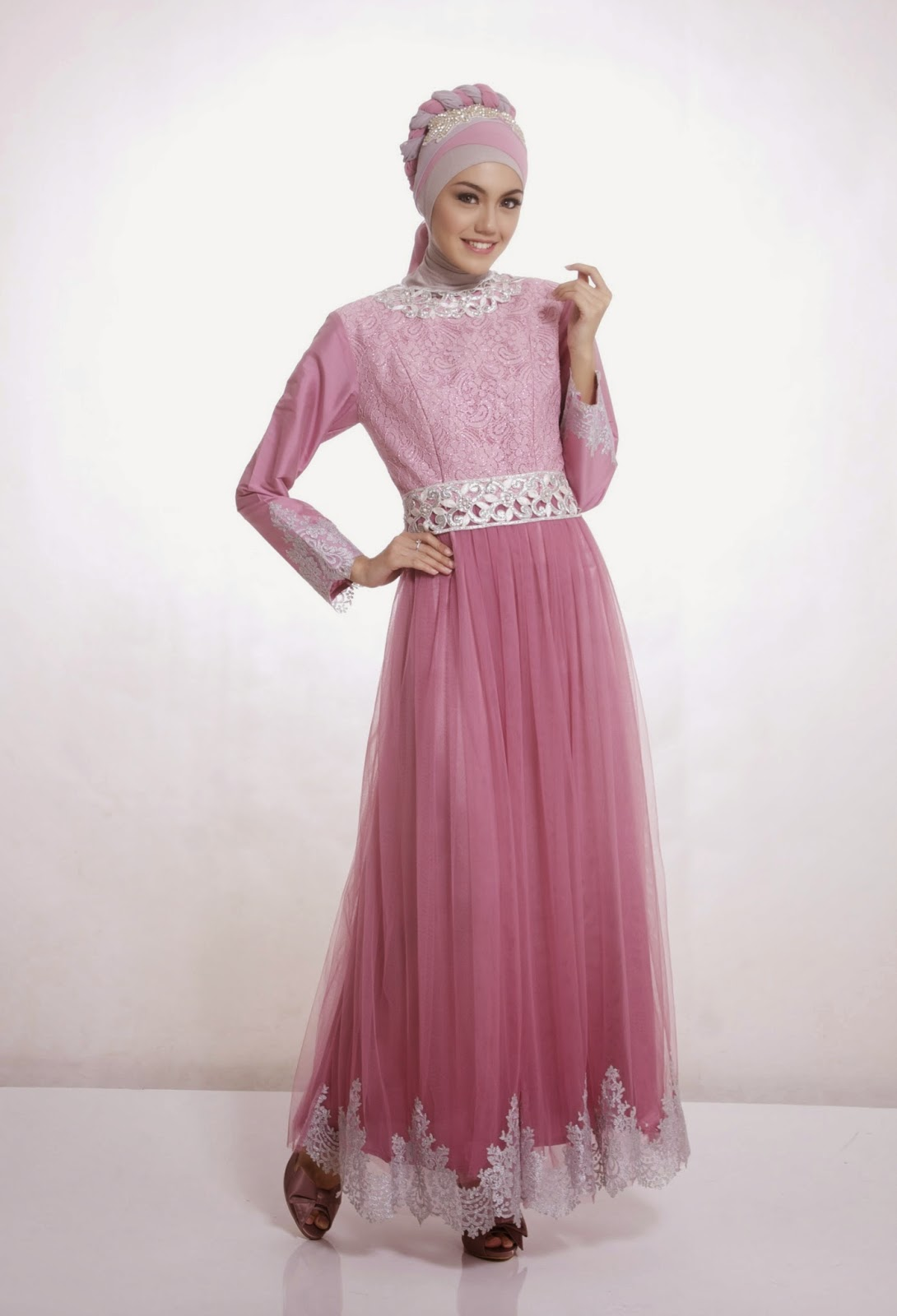 Model Baju Muslim Kebaya Terbaru