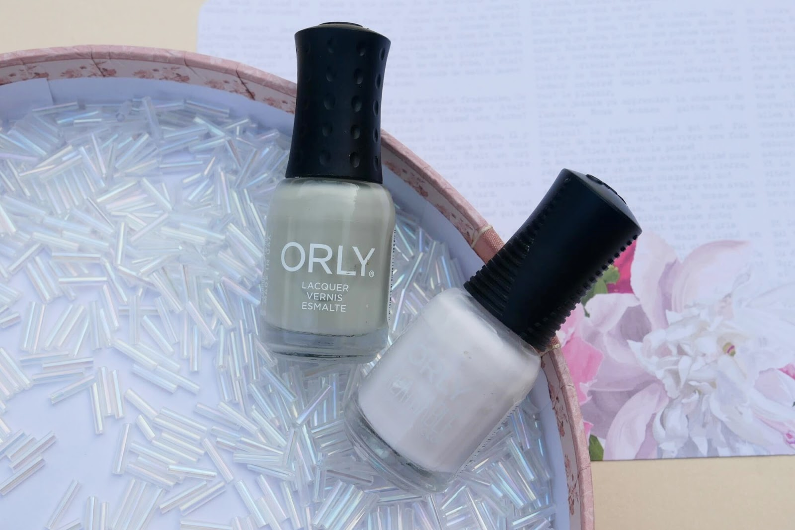 lakiery do paznokci ORLY mini