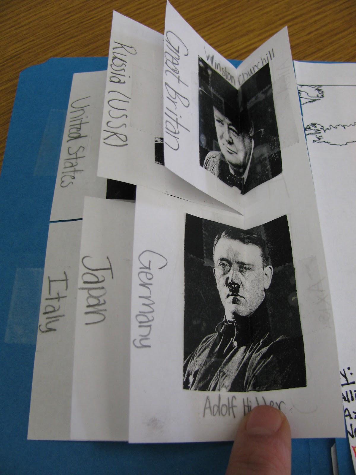 Fifth Grade Follies Wwii Lapbooks