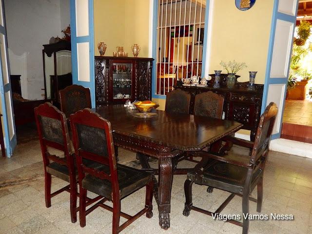 Mobiliário da Casa Brisas de Alameda