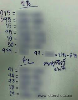 รวมหวยเด็ด เลขเด็ดทำมือ, หวยซอง,ข่าวหวย,16/03/2559 มีนาคม