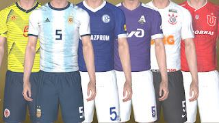 Copa America National Teams Kits