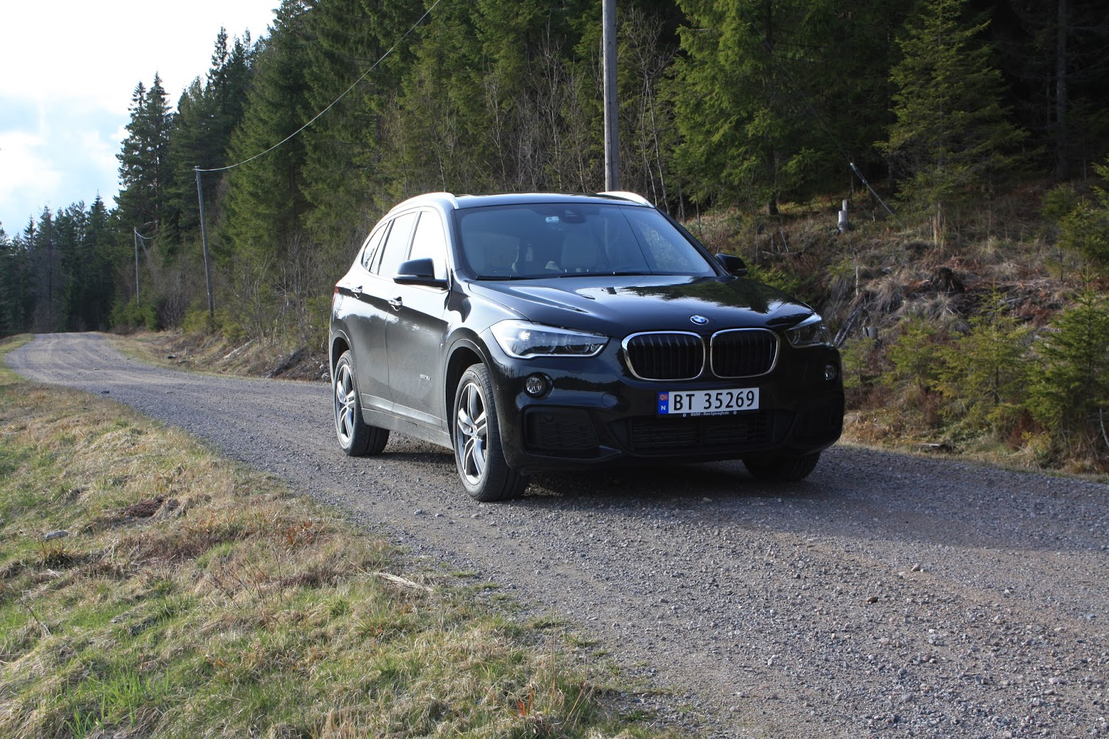 test bmw x1 xdrive 18d bil og motorbloggen. Black Bedroom Furniture Sets. Home Design Ideas