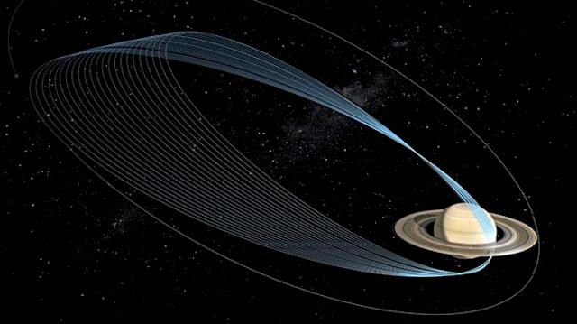 Nave Cassini mergulhará 22 vezes nos anéis de Saturno